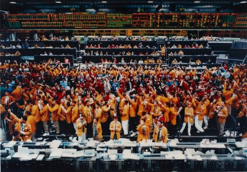 An image of Chicago Mercantile Exchange by Andreas Gursky