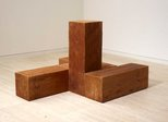 Alternate image of The way north, south and west (uncarved blocks) by Carl Andre