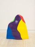 Alternate image of Non-geometric form (splotch) #4 by Sol LeWitt