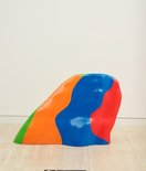 Alternate image of Non-geometric form (splotch) #6 by Sol LeWitt