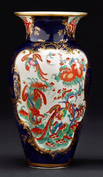An image of Vase [one of a pair] by Worcester