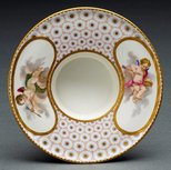 Alternate image of Cup and socketed saucer (gobelet et soucoupe enfonce) by Sèvres