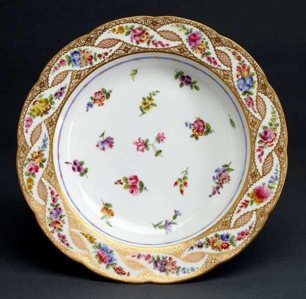 An image of Soup plate (assiette à potage)