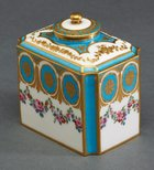 Alternate image of Tea canister and cover by Sèvres