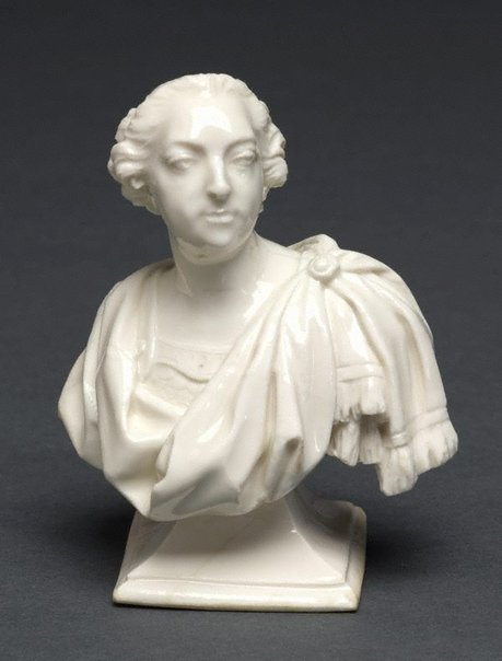 An image of Bust of Louis XV by Sèvres