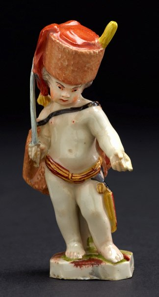 An image of Putto as hussar by Ludwigsburg