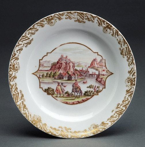An image of Plate by Meissen