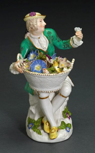 An image of Male gardener, model by Meissen