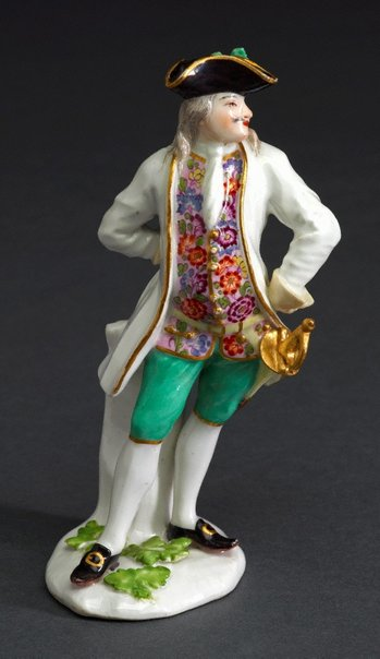 An image of Capitano, model by Meissen