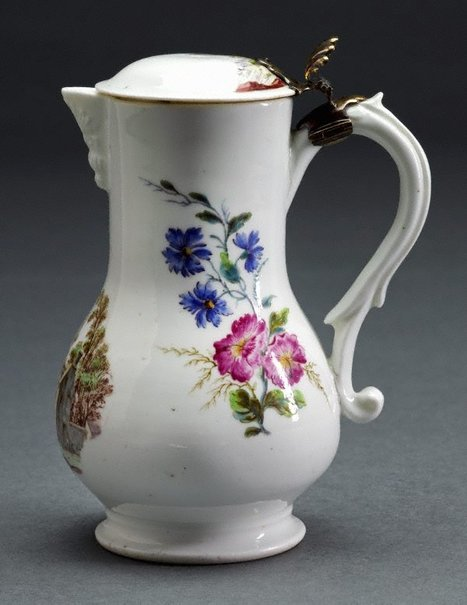 An image of Jug (pot à eau ordinarie) by Vincennes