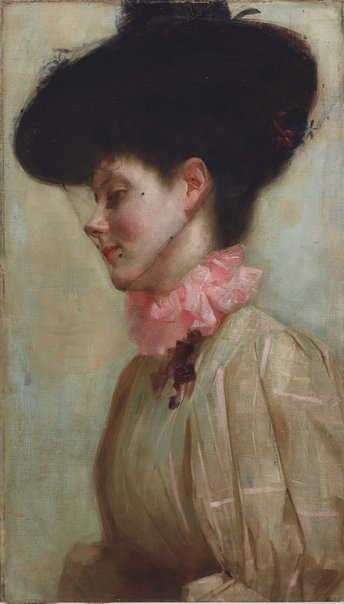 An image of Portrait of Florence by Tom Roberts