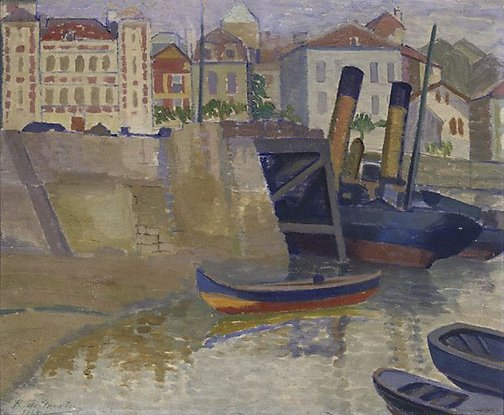 An image of (St Jean de Luz) by Roy de Maistre