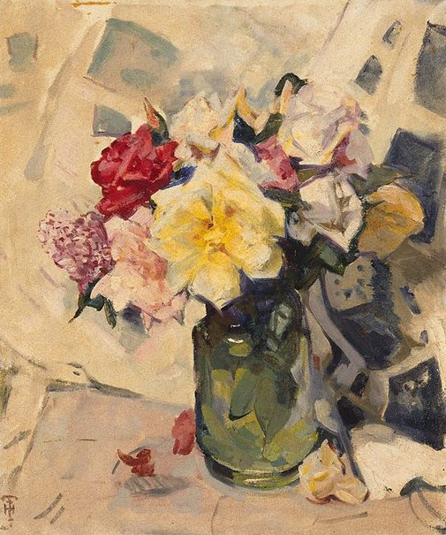 An image of Flowerpiece by Isabel Hunter Tweddle