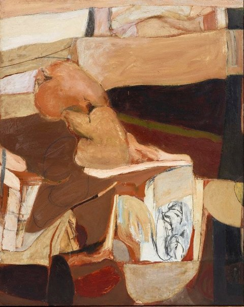 An image of Untitled painting II by Brett Whiteley