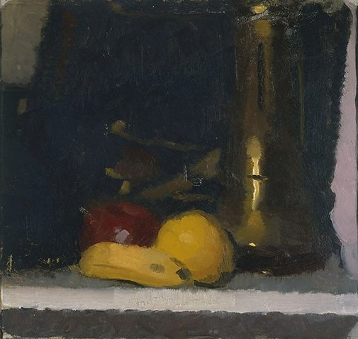 An image of The brass pot by Roland Wakelin