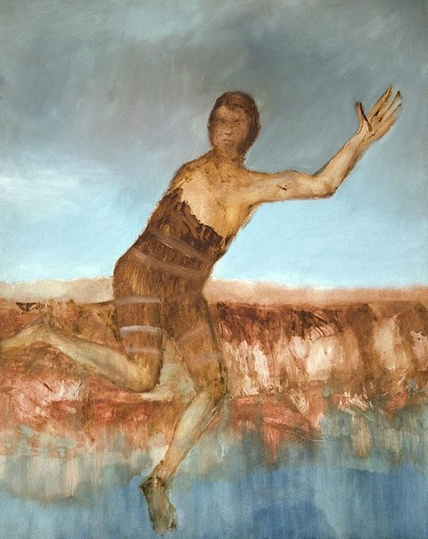 An image of Escaped convict by Sidney Nolan