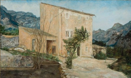 An image of Paul's house by David Strachan