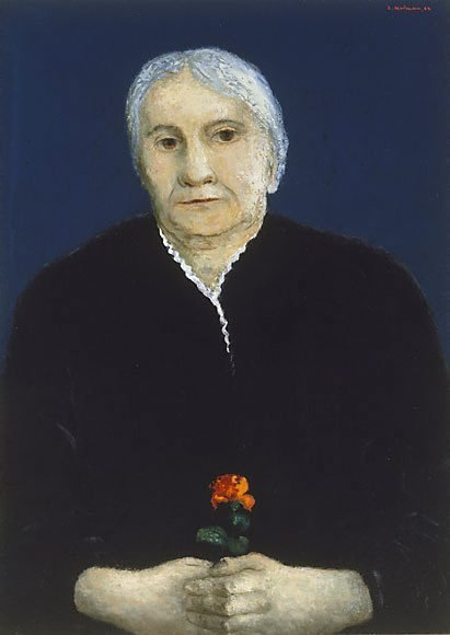 An image of The artist's mother by Sali Herman