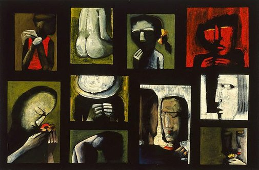 An image of Suite V by Charles Blackman