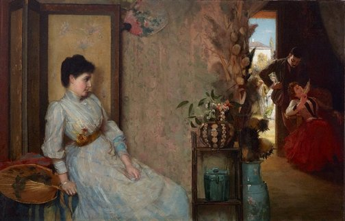 An image of Jealousy by Tom Roberts