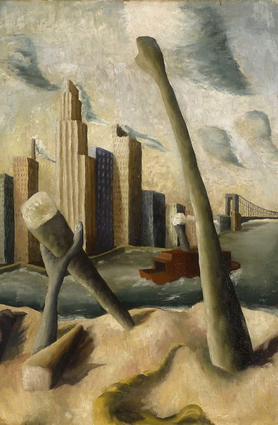 An image of New York by Peter Purves Smith