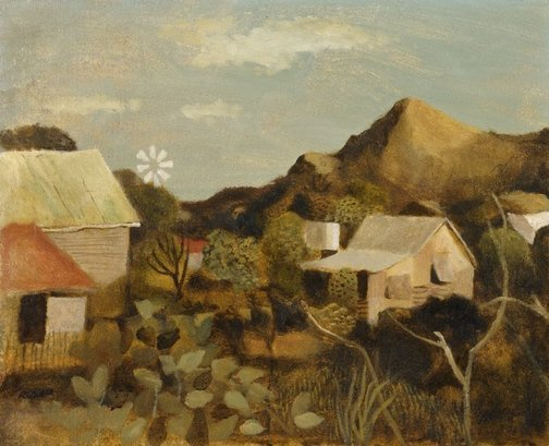An image of Chillagoe by Ray Crooke