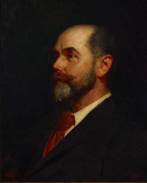 An image of Portrait of Mr. T.P. Purves by Tom Roberts