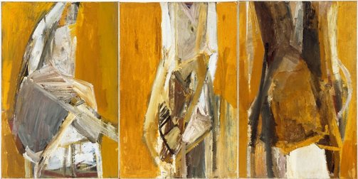 An image of Deposition (Triptych) by Karl Weschke