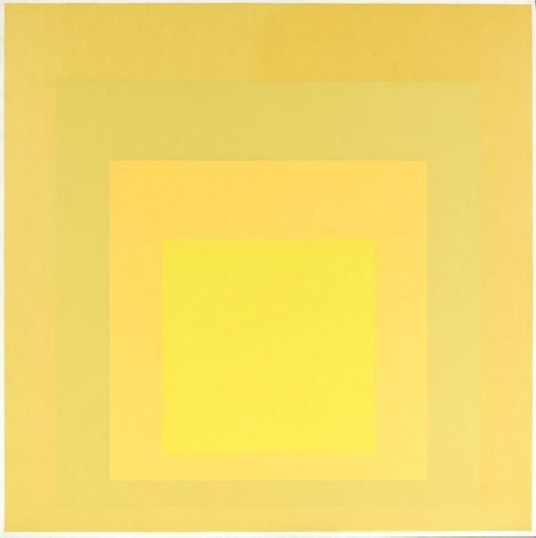 An image of Homage to the square: early fusion