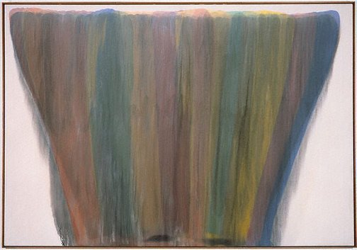 An image of Ayin by Morris Louis
