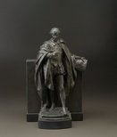 Alternate image of Statuette of Shakespeare by Bertram Mackennal
