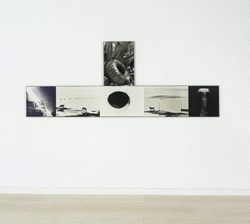 An image of Photem series I #7 by Robert Rauschenberg