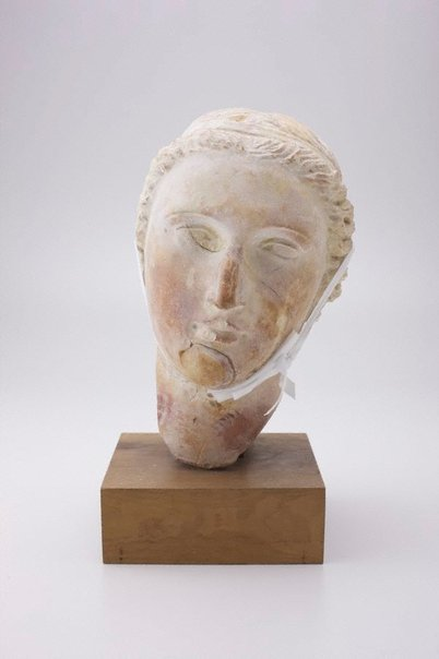 An image of Head of Apollo by Unknown, Greco-Roman (1-2nd Century AD)