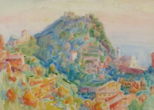 An image of Portofino by John Peter Russell