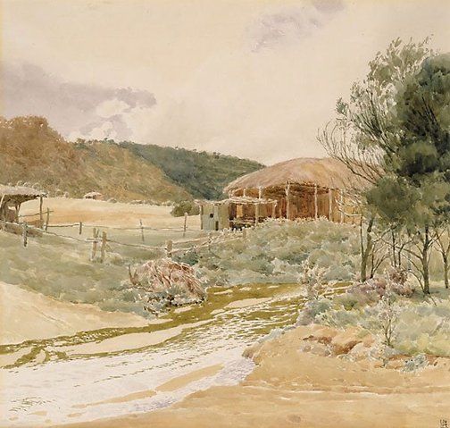 An image of York, Western Australia by James W. R. Linton