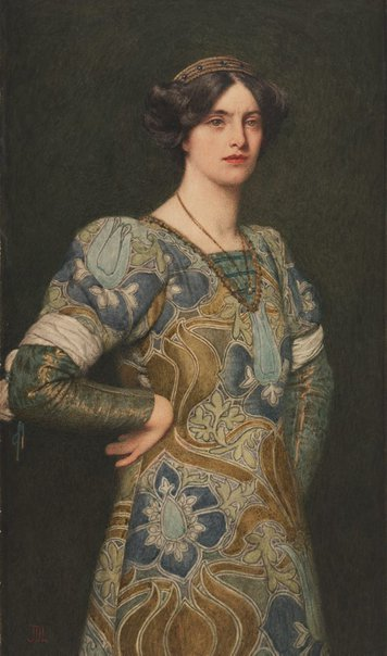 An image of Katherine from The Taming of the Shrew by Sir James Dromgole Linton