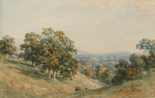 An image of In Reigate Valley by Constance Davidson