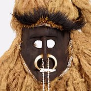 Image: Fore people, Ofafina, Okapa District, Eastern Highlands Province Mask mid 1900s (detail) © Fore people, under the endorsement of Pacific Island Museums Association's (PIMA) Code of Ethics