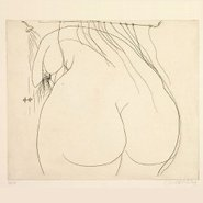 Image: Brett Whiteley Woman under the shower 1976, gift of the Art Gallery Society of NSW 1994 © Wendy Whiteley