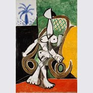 Image: Pablo Picasso Nude in a rocking chair 1956