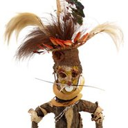Image: Wahgi people, Kwiena village, Banz, Jiwaka Province Kund gale (effigy) mid 1900s (detail) © the artist, under the endorsement of Pacific Island Museums Association's (PIMA) Code of Ethics