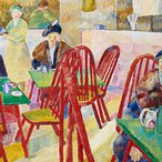 Image: Grace Cossington Smith The Lacquer Room 1936 (detail) © the artist's estate