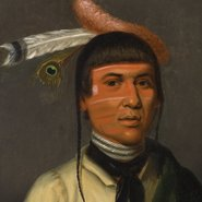 Image: Henry Inman No-Tin (Wind), a Chippewa Chief 1832–33 (detail) Los Angeles County Museum of Art, gift of the 2008 Collectors Committee, photo: Museum Associates/LACMA