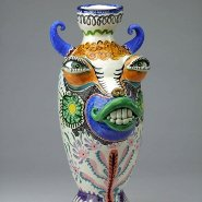 Image: Jenny Orchard Dandy tiger vase (detail)