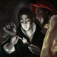 Image: El Greco (Domenikos Theotokopoulos) An allegory (Fábula) c1585-95 (detail), oil on canvas, 67.3 × 88.6 cm, Scottish National Gallery, Edinburgh © Trustees of the National Galleries of Scotland