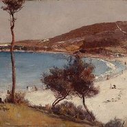 Image: Tom Roberts Holiday sketch at Coogee 1888 (detail). Art Gallery of New South Wales.