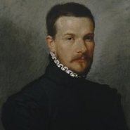 Image: Giovanni Battista Moroni Portrait of a young man 1565-70 (detail), oil on canvas, 53 × 46.5cm