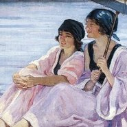 Image: Hilda Rix Nicholas The bathers (Cronulla) c1920. Courtesy of Mosman Art Gallery.