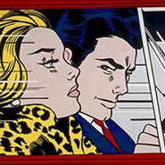 Image: Roy Lichtenstein In the car 1963 (detail), Scottish National Gallery of Modern Art, purchased 1980 © Roy Lichtenstein Foundation. Licensed by Viscopy, Sydney