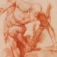 Image: José de Ribera A saint tied to a tree 1626 (detail) drawing © The Trustees of the British Museum